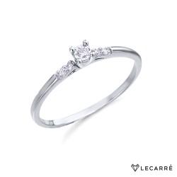 Anillo Oro y Diamantes Lecarre GA065OB.
