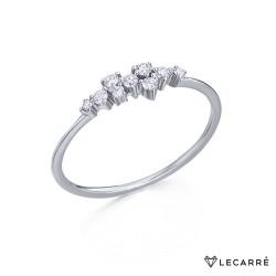Anillo Oro y Diamantes Lecarre GA056OB.
